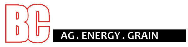 BC Bagley Co-Op white Logo